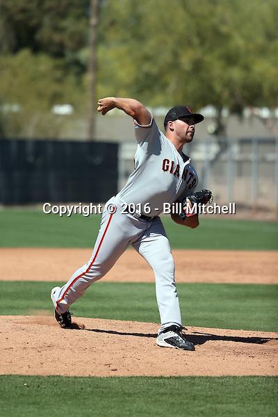 Tyler Cyr - San Francisco Giants 2016 spring training (Bill Mitchell)