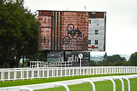 The big screen prior to racing during Evening Racing at Salisbury Racecourse on 11th June 2019