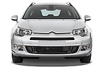 Straight front view of a 2010 Citroen C5 Dynamique 5 Door Wagon 2WD