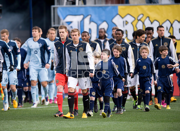 Brian Carroll.  Sporting Kansas City defeated Philadelphia Union, 3-1. at PPL Park in Chester, PA.