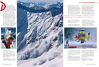 Zine Travel, Norway. Avalanche Rescue with the Austrian Mountain Rescue Service
