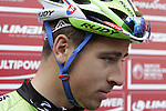 Peter Sagan (SVK) Cannondale at sign on in San Gimignano before the start of the 2014 Strade Bianche race over the white dusty gravel roads of Tuscany, Italy. 8th March 2014.<br /> Picture: Eoin Clarke www.newsfile.ie