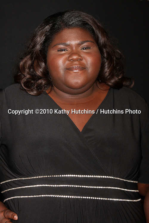 Gabourey Sidibe (Virtuoso Award).arriving at the 25th Santa Barbara International Film Festival Cinema Vanguard Awards.Lobero Theater.Santa Barbara, CA.February 12, 2010.©2010 Kathy Hutchins / Hutchins Photo....