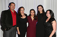 LOS ANGELES, CA - NOVEMBER 8: Eva Longoria, Scholarship Recipients, at the Eva Longoria Foundation Dinner Gala honoring Zoe Saldana and Gina Rodriguez at The Four Seasons Beverly Hills in Los Angeles, California on November 8, 2018. Credit: Faye Sadou/MediaPunch
