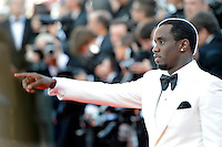 """Sean Combs attends the """" Killing them softly """" premiere at the 65th Cannes Film Festival at the Palais des Festivals..May 22, 2012"""