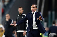 Football Soccer: UEFA Champions League semifinal second leg Juventus - Monaco, Juventus stadium, Turin, Italy,  May 9, 2017. <br /> Juventus' coach Massimiliano Allegri gestures to his players during the Uefa Champions League football match between Juventus and Monaco at Juventus stadium, on May 9, 2017.<br /> UPDATE IMAGES PRESS/Isabella Bonotto