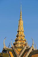 Phnom Penh, Cambodia. Royal Palace. Phochani Pavilion.