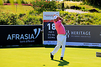 Barry Lane (ENG) during the first round of the Afrasia Bank Mauritius Open played at Heritage Golf Club, Domaine Bel Ombre, Mauritius. 30/11/2017.<br /> Picture: Golffile | Phil Inglis<br /> <br /> <br /> All photo usage must carry mandatory copyright credit (&copy; Golffile | Phil Inglis)