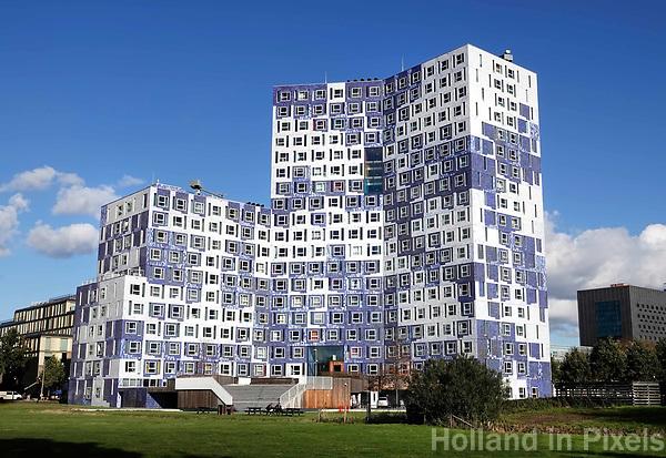 Science Park Utrecht. Studentencomplex Johanna (Student Cloud). Studentenhuisvesting voor studenten aan de Universiteit van Utrecht. Het gebouw is ontworpen door Onix architecten.