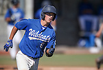 Wildcats' Brandon Lapointe runs the bases against College of Southern Nevada at Western Nevada College in Carson City, Nev., on Thursday, March 26, 2015. <br /> Photo by Cathleen Allison/Nevada Photo Source