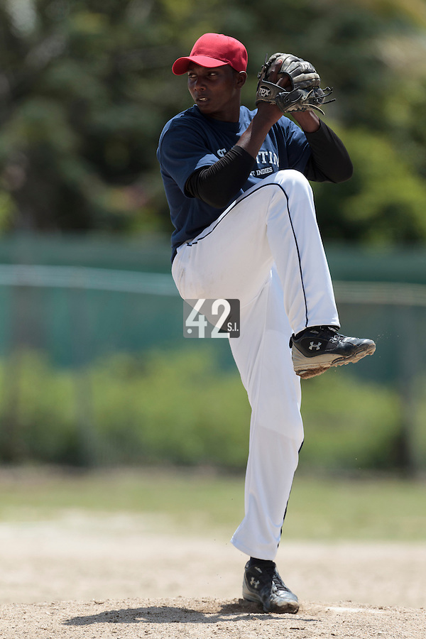 08 May 2010: Jabalera Jairo is seen during a tryout for Team France, in St Maarten, Netherlands Antilles.