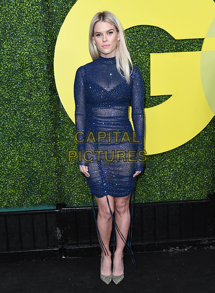 Alice Eve attends the 2018 GQ Men of the Year Party at a