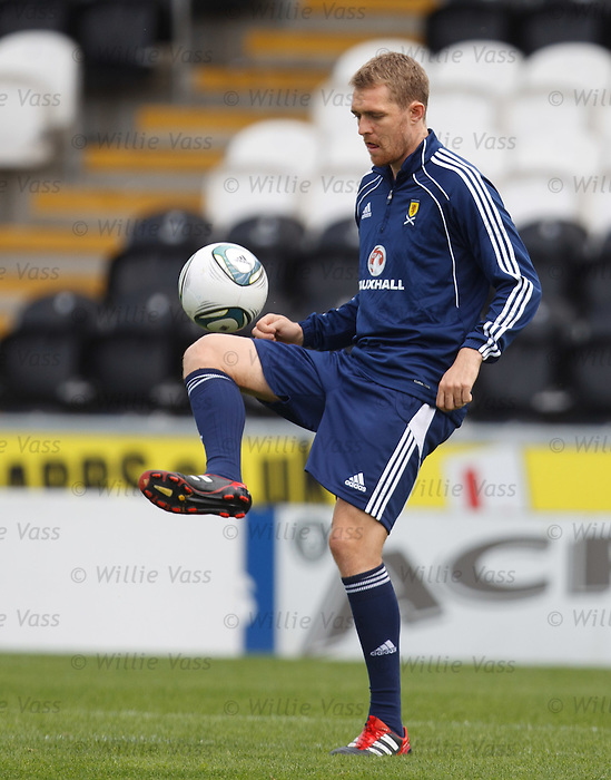 Darren Fletcher at training