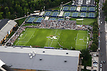 1309-22 3907<br /> <br /> 1309-22 BYU Campus Aerials<br /> <br /> Brigham Young University Campus, Provo, <br /> <br /> Smith Fieldhouse South Field SFLD, BYU Soccer, <br /> <br /> September 6, 2013<br /> <br /> Photo by Jaren Wilkey/BYU<br /> <br /> &copy; BYU PHOTO 2013<br /> All Rights Reserved<br /> photo@byu.edu  (801)422-7322