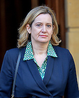 17 January 2017 - London, England - Amber Rudd at Lancaster House, London where the Prime Minister is delivering a speech on Brexit about Britain and the EU. The widely leaked speech set out the Prime Minister's intention to prioritise control on immigration and an exit from the Court of Justice of the European Union. Photo Credit: ALPR/AdMedia