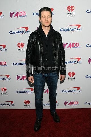 NEW YORK, NY - DECEMBER 9 : Ben McKenzie at the Z100 Jingle Ball 2016 at Madison Square Garden in New York City on December 9, 2016. Credit: John Palmer/MediaPunch