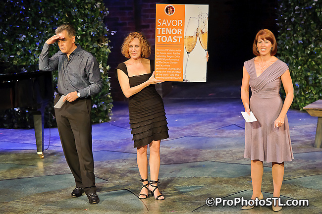 Stages St. Louis charity event at The Robert Reim Theater in Kirkwood, MO on Aug 15, 2011.