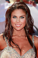 US actress Nadia Bjorlin arrives at the 35th Annual Daytime Emmy Awards held at the Kodak Theatre in Los Angeles on June 20, 2008.