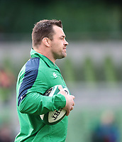 8th February 2020; Aviva Stadium, Dublin, Leinster, Ireland; International Six Nations Rugby, Ireland versus Wales; Cian Healy (Ireland) warms up before the match