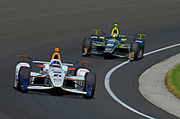 Verizon IndyCar Series<br /> Indianapolis 500 Carb Day<br /> Indianapolis Motor Speedway, Indianapolis, IN USA<br /> Friday 26 May 2017<br /> JR Hildebrand, Ed Carpenter Racing Chevrolet, Ed Carpenter, Ed Carpenter Racing Chevrolet<br /> World Copyright: F. Peirce Williams