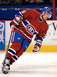 16 January 2007: Montreal Canadiens defenseman Andrei Markov of Russia warms up prior to facing the Vancouver Canucks at the Bell Centre in Montreal, Canada. The Canucks defeated the Canadiens 4-0.Mandatory Credit: Ed Wolfstein Photo *** Editorial Sales through Icon Sports Media *** www.iconsportsmedia.com