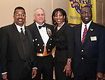 Captain Paul Matthews, Chaplain Bryan Crittendon, Debbie Dillard, and Chaplain Michael McCoy.