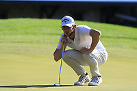 Thomas Pieters (BEL) on the 5th green during Saturday's Round 3 of the 2018 Turkish Airlines Open hosted by Regnum Carya Golf &amp; Spa Resort, Antalya, Turkey. 3rd November 2018.<br /> Picture: Eoin Clarke | Golffile<br /> <br /> <br /> All photos usage must carry mandatory copyright credit (&copy; Golffile | Eoin Clarke)