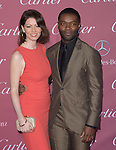 ]David Oyelowo and Jessica Oyelowo attends The The 26th Annual Palm Springs International Film Festival in Palm Springs, California on January 03,2015                                                                               © 2014 Hollywood Press Agency