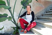 Meret Bissegger, Köchin und Buchautorin, Casa Merogusto Malvaglia