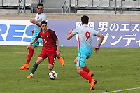 Ruben Vinagre of Wolverhampton Wanderers and Portugal U19's in action during Portugal Under-19 vs Turkey Under-21, Tournoi Maurice Revello Football at Stade Parsemain on 3rd June 2018