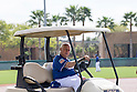 Tommy Lasorda (Dodgers),<br /> MARCH 3, 2016 - MLB :<br /> Tommy Lasorda, Special Advisor to the Chairman of the Los Angeles Dodgers, during the team's spring training baseball camp in Glendale, Arizona, United States. (Photo by Thomas Anderson/AFLO) (JAPANESE NEWSPAPER OUT)