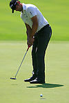 Lee Slattery (ENG) sinks his putt on the 5th green during Day 3 of the BMW Italian Open at Royal Park I Roveri, Turin, Italy, 11th June 2011 (Photo Eoin Clarke/Golffile 2011)