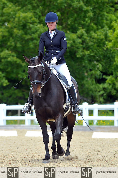 Class 3. Prelim 1. Brook Farm Championships, points league and Trailblazers Unaffiliated Dressage. Brook Farm Training Centre. Essex. 30/05/2015. MANDATORY Credit Ellie Ingram/Sportinpictures - NO UNAUTHORISED USE - 07837 394578