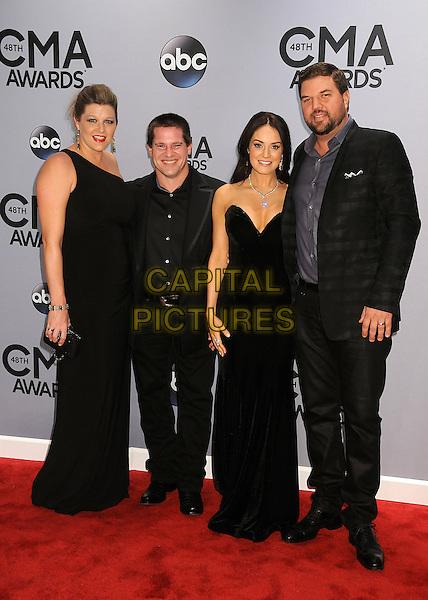 05 November 2013 - Nashville, Tennessee - Rob Hatch, Dallas Davidson. 47th CMA Awards, Country Music's Biggest Night, held at Bridgestone Arena. <br /> CAP/ADM/BP<br /> &copy;BP/ADM/Capital Pictures