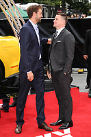 Producer Reid Carolin &amp; Channing Tatum at the premiere of &quot;Logan Lucky&quot; at the VUE West End Cinema, London, UK. <br /> 21 August  2017<br /> Picture: Steve Vas/Featureflash/SilverHub 0208 004 5359 sales@silverhubmedia.com