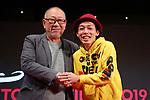 "Yoichi Sai, Shinichiro Ueda, November 04, 2019 - The 32nd Tokyo International Film Festival, press conference of movie ""One Cut of the Dead"" in Tokyo, Japan on November 04, 2019. (Photo by 2019 TIFF/AFLO)"