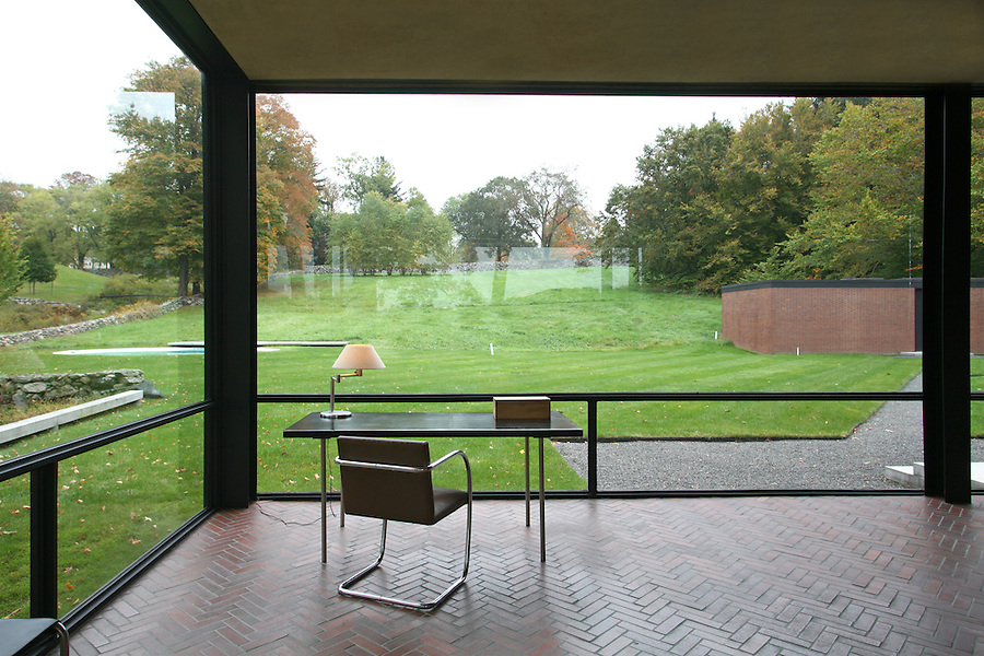 The Glass House Architect Philip Johnson 1949
