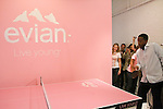 "during the Evian ""Live Young"" photo shoot event hosted by Maria Sharapova at Openhouse Gallery on August 24, 2010."