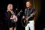 Glen Campbell and daughter Ashley perform at Taft Theater in Cincinnati, Ohio