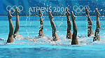 Olympia 2004 Athen Feature; Syncronschwimmen; Ringen