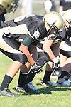 Palos Verdes, CA 09/24/10 - Walt Proenca (Peninsula #56)  in action during the Serra-Peninsula varsity football game at Peninsula High School.
