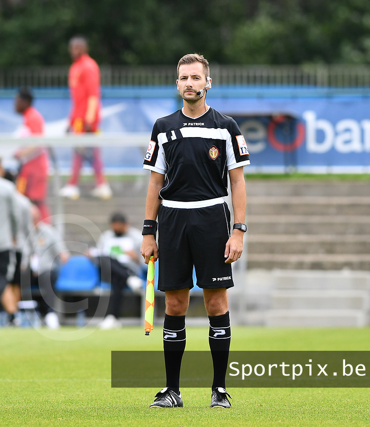 assistant referee Bryan Bijnens  pictured during a friendly soccer game between the national teams Under19 Youth teams of Belgium and Germany on tuesday 8 th of September 2020  in Genk , Belgium . PHOTO SPORTPIX.BE   SPP   DAVID CATRY