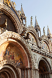 ITALY, Venice. St. Mark's Basilica in St. Mark's Square.