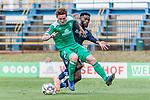 11.01.2019, Bidvest Stadion, Braampark, Johannesburg, RSA, FSP, SV Werder Bremen (GER) vs Bidvest Wits FC (ZA)<br /> <br /> im Bild / picture shows <br /> Joshua Sargent (Werder Bremen #19) im Duell / im Zweikampf mit Thulani Hlatshwayo (Bidvest Wits FC #03), <br /> <br /> Foto © nordphoto / Ewert