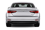 Straight rear view of 2018 Audi A5  Premium 2 Door Coupe stock images