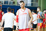 Victor Claver during the training of Spanish National Team of Basketball. August 07, 2019. (ALTERPHOTOS/Francis González)