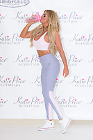 www.acepixs.com<br /> <br /> April 25 2017, London<br /> <br /> Katie Price launches her new range of nutrition products at The Worx Studio's on April 25, 2017 in London<br /> <br /> By Line: Famous/ACE Pictures<br /> <br /> <br /> ACE Pictures Inc<br /> Tel: 6467670430<br /> Email: info@acepixs.com<br /> www.acepixs.com