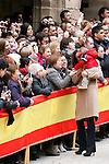 Princess Letizia of Spain visit Alcaniz village on November 7, 2012 in Alcaniz, Teruel, Spain.(ALTERPHOTOS/Harry S. Stamper)