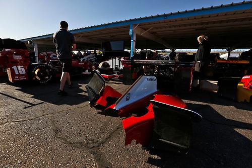 26-27 February, 2016, Avondale, Arizona USA<br /> Andretti and Rahal crews at work<br /> ©2016, Phillip Abbott<br /> LAT Photo USA