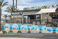 Bike Religion and Crank + Grind Coffee Shop Dana Point California